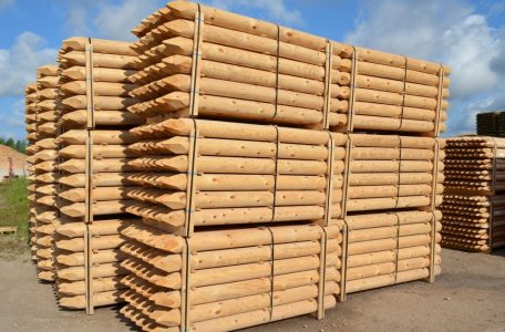 Wood poles piles BWP