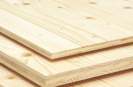 Three layers solid timber panels Lithuania