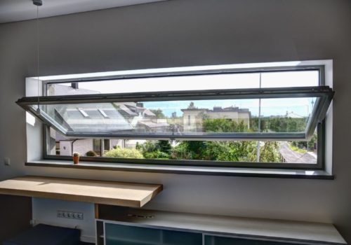 Timber Pivot Windows production