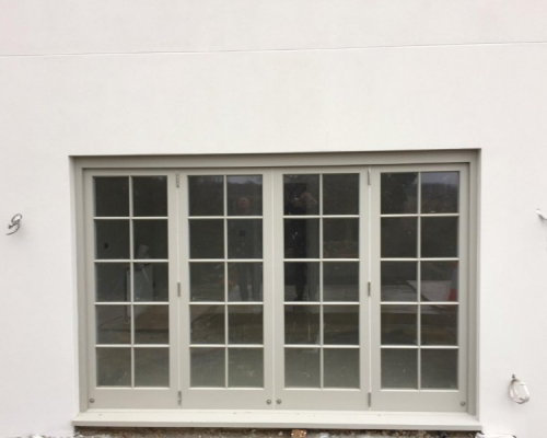 Windows Traditional Spring Sash Lithuania Factory Production FSC, CE, TIMBER, ALU-CAD