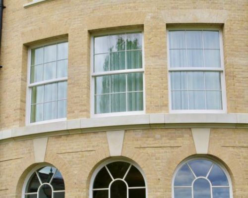 Traditional Box Sash Windows Timber Production Baltic States FSC, CE, Premium Class