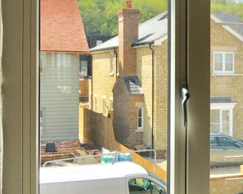 Windows manufacture Lithunia timber windows aluminium