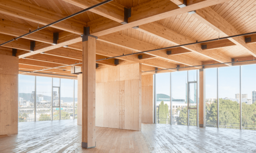 CLT House Lithuania Factory BWP Baltic Wood Partner