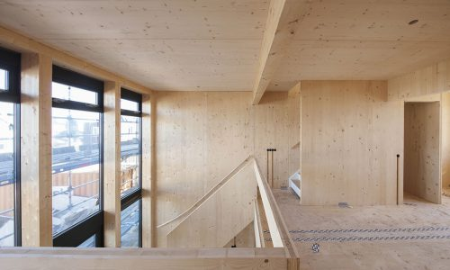 CLT House CLT Panel Lithuania Baltic States Export Europe CROSS LAMINATED TIMBER