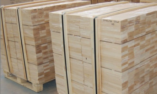 Furniture scantlings solid wood for furniture FSC production birch, beech