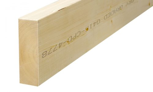 Structural timber planed Lithuania production pine, spruce export Baltic states Structural wood
