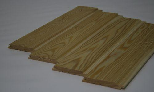 Siberian larch Planken production Baltic states export premium class FSC
