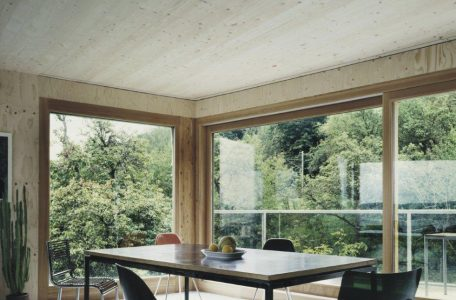 THREE-LAYER SOLID WOOD PANEL The interior Lithuania