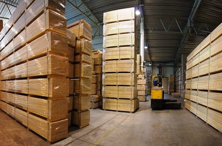 Warehouse BWP glued wood Lithuania