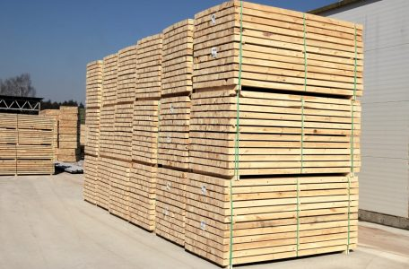 Packing timber FSC