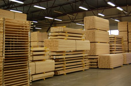 Warehouse BWP - planed wood
