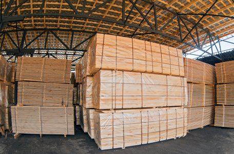 PIne FSC sawn timber