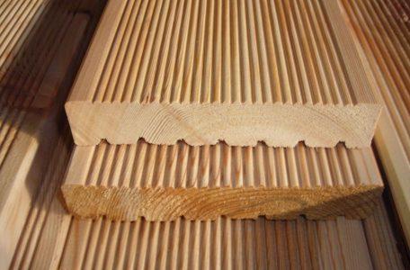 Larch wood Lithuania FSC