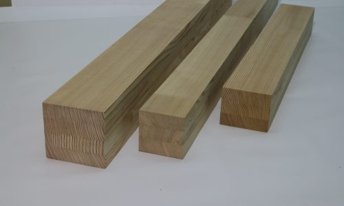 Siberian larch window scantlings production Lithuania FSC export