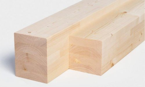 Glulam BSH Glued timber wood for construction for projects home FSC prodcution pine spruce Lithuania Wood Export