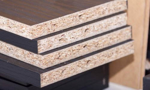Laminated two sides MDF board BWP MDF lithuania for furniture